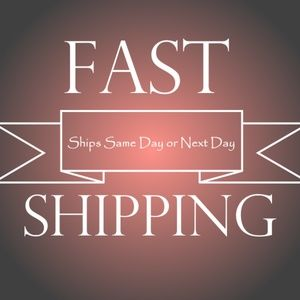 Ships Same Day or Next Day!